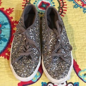Old navy sequin shoes ladies size 6